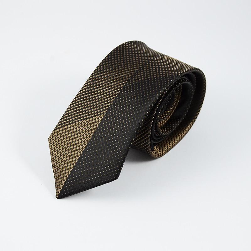 GUSLESON Neue Mens Ties Benutzerdefinierte Marke Mann Dot Gestreiften - Bekleidungszubehör - Foto 2