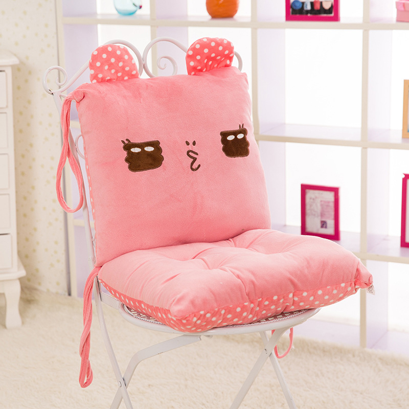 Computer Chair Seat Cushion online shop cartoon conjoined cushions home chair cushion office
