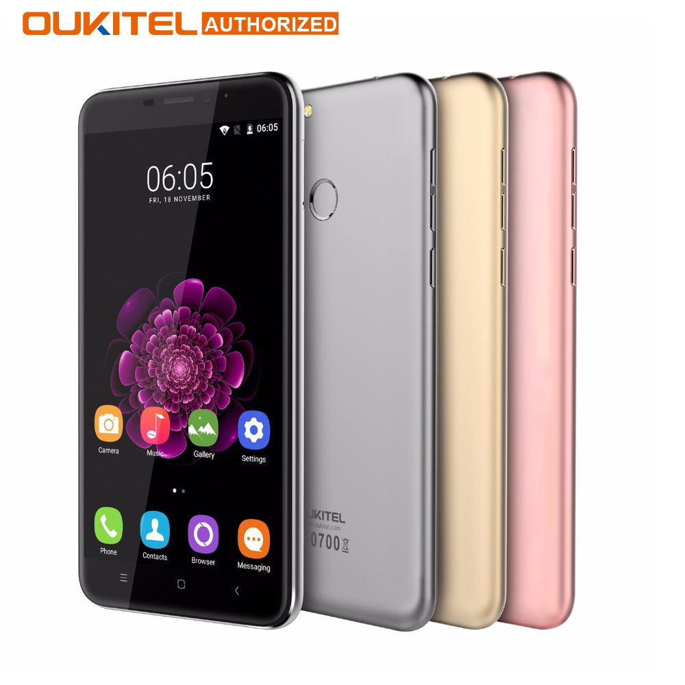 Oukitel U20 Plus Android 6.0 4G Mobile phone 5.5inch IPS FHD MTK6737T Quad Core 13MP Dual Lens Back Camera 2GB + 16GB Smartphone