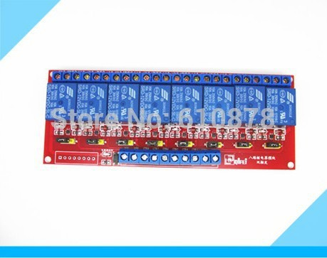 With Optocoupler 12V 8 Channel Relay Control Panel PLC Relay Module Board for arduino NEW 8 channel 12v relay module board