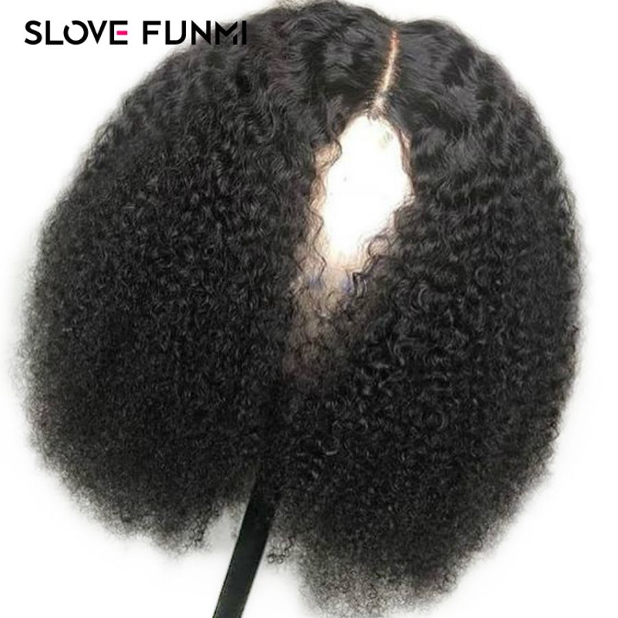 150 Short Bob 13X4 Kinky Curly Full End Lace Front Human Hair Wigs For Black Women