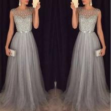 Fashion Sequin Patchwork Dress 2018 Evening Party Sleeveless O Neck Long Belt Slim Elegant Summer Dress Women Maxi Mesh Vestidos