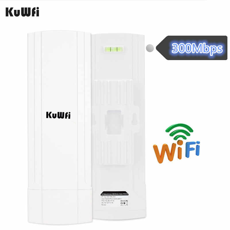 KuWFi CPE נתב 2.4G 3KM Wifi גשר חיצוני Wifi מהדר Wifi Extender נקודת גישה נתב תמיכה Gateway סופר WDS