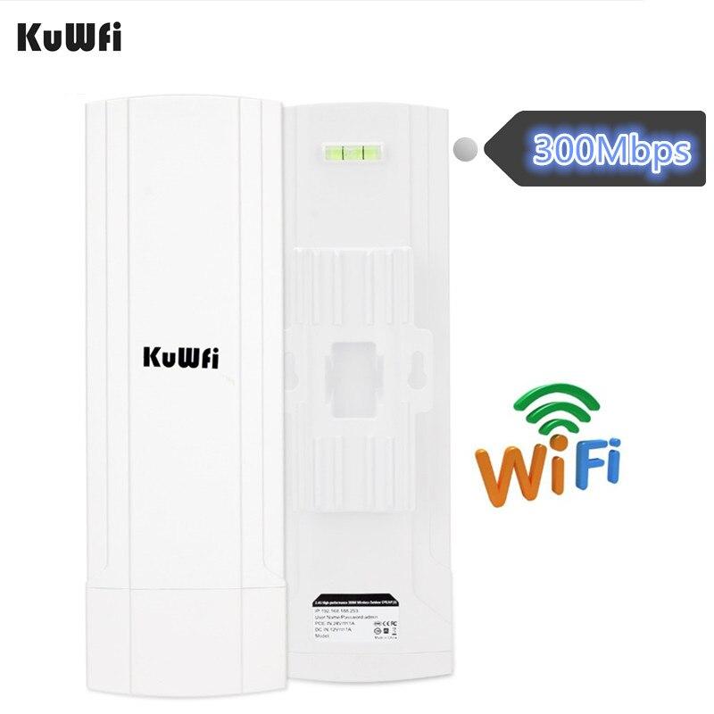 KuWFi CPE Router 2.4G 3KM Wifi Bridge Outdoor Wifi Repeater Wifi Extender Access Point Router Ondersteuning Gateway Super WDS-in Draadloze Router van Computer & Kantoor op AliExpress - 11.11_Dubbel 11Vrijgezellendag 1