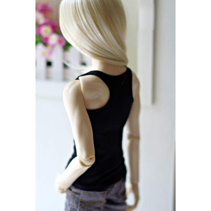 Bjd White Grey Tank Top Outfits Top Clothing For 1/4 1/3 SD17 70cm 17