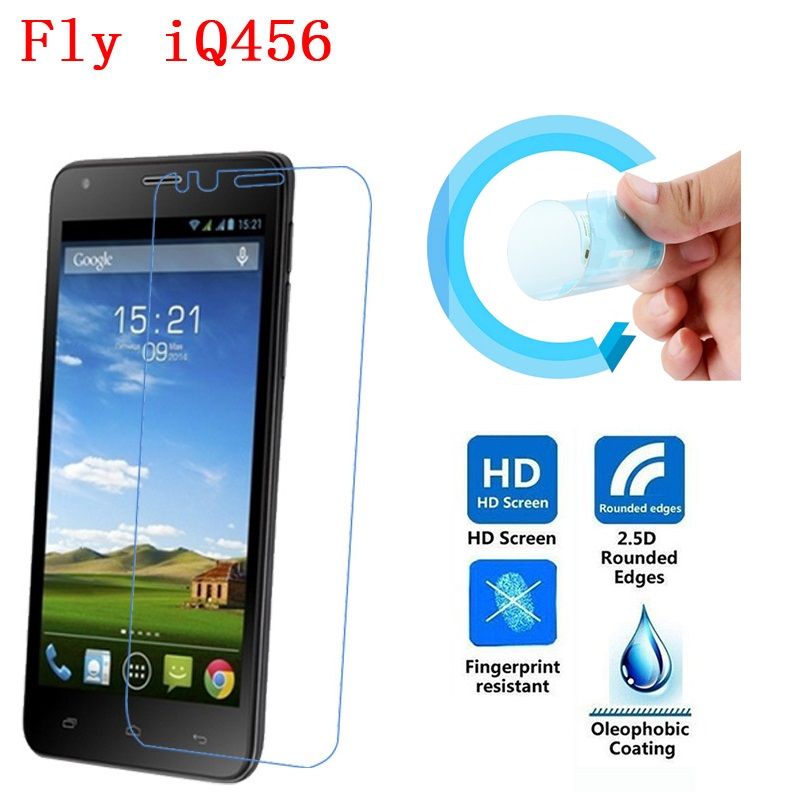Fly IQ456 Screen Protective Film, 2.5D Ultra-Thin HD Clear Soft Pet Screen Protector Film for Fly IQ456 ERA Life 2