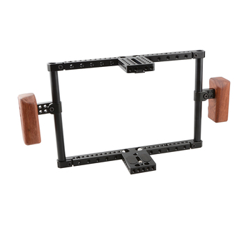 CAMVATE Full-frame Camera Cage For Large-sized DSLR With Battery Grip  C1844