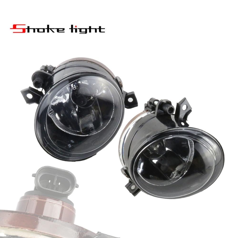 Pair 1T0941700 1T0941699 For VW Golf GTI Jetta MK5 04-14 Front Bumper Convex Lens Driving Lamp Fog Light 1T0 941 700 1T0 941 699