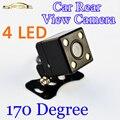 170 Градусов 4 СВЕТОДИОДОВ Ночного Видения Автомобильная Камера Заднего вида HD Видео Водонепроницаемый Авто Парковка Монитор Заднего Вида CCD
