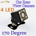 170 Graus 4 LED Night Vision Car Câmara de Visão Traseira HD de Vídeo À Prova D' Água Auto Monitor de Estacionamento Reverter CCD