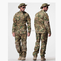 US Army Tactical Camouflage Combat Uniform suit Military Hunting Shirt + Pants ACU Airsoft Uniforms Set S XXL