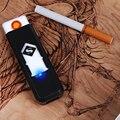 2017 Portátil Recarregável USB Isqueiro Sem Gás/Combustível EH183 Cigarro Sem Chama À Prova de Vento Frete Grátis