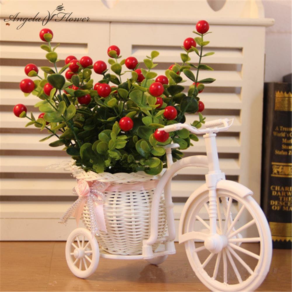 Compra bicicleta planta online al por mayor de china - Frutas artificiales para decoracion ...