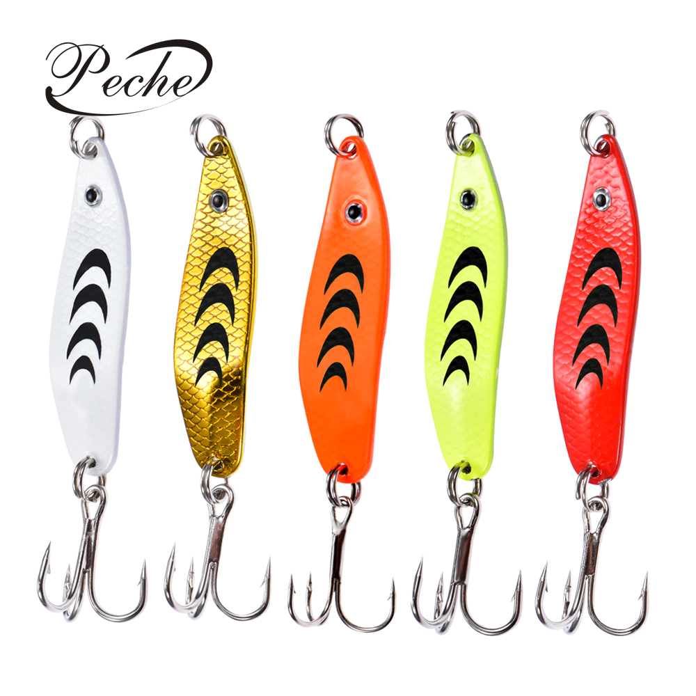 Peche Spinner Trout Spoon Fishing Lures Shads Wobblers Jig Lures VIB Hard Baits Sequins for Carp Fishing Tackle Pesca Isca(China)