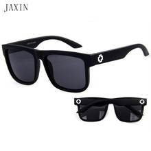 JAXIN Fashion Rectangular Sunglasses Men Retro Personality SunGlasses Mr Outdoor Travel Driving Eyewear UV400gafas de sol hombre
