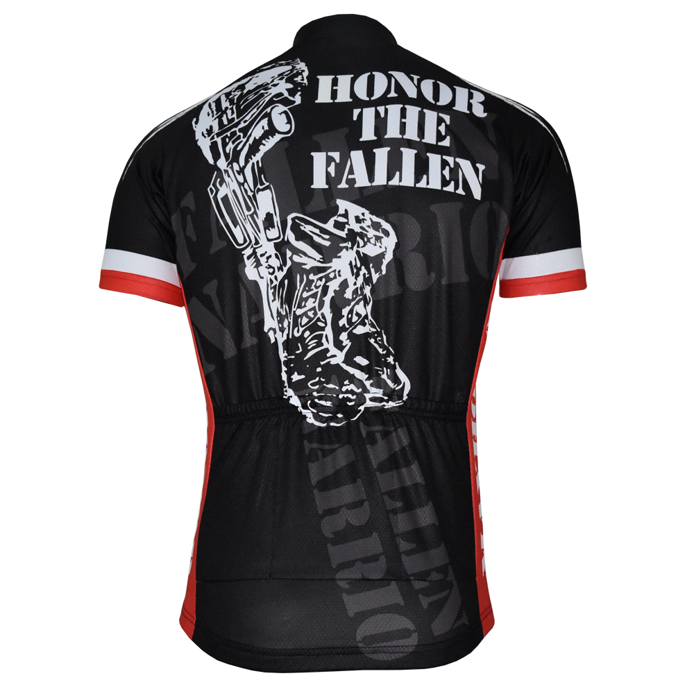 2018 cycling jersey usa black cycling clothing red blue bicycle clothing  summer ropa ciclismo customized maxhonor wholesale-in Cycling Jerseys from  Sports ... bafbe8e13