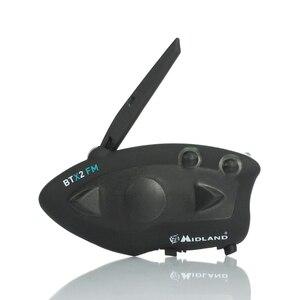Image 3 - Btx2 fone de ouvido para capacete de motocicleta, 2 peças, interfone bluetooth sem fio para motocicleta