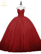 Bealegantom 100% Real Photo Ball Gown Quinceanera Dresses 2019 Beaded Puffy Sweet 16 Dress Debutante Vestidos De 15 Anos QA1557