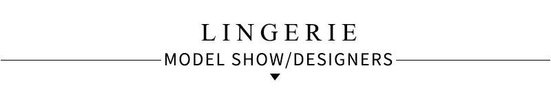 lingerie modal shows