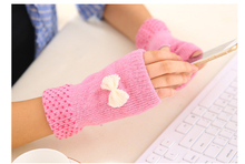 hand warmer USB heating glove Warm electric gloves Wool imitates rabbit hair 1set cable and heater can taken out