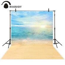 Allenjoy фотографический фон небо солнце Пляж океан фонов дети фото цифровой 10FT * 20ft