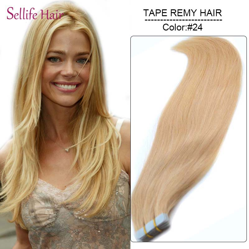 24inches60cm Long 70glot 20 Pieces Skin Weft Hair Extensions 100