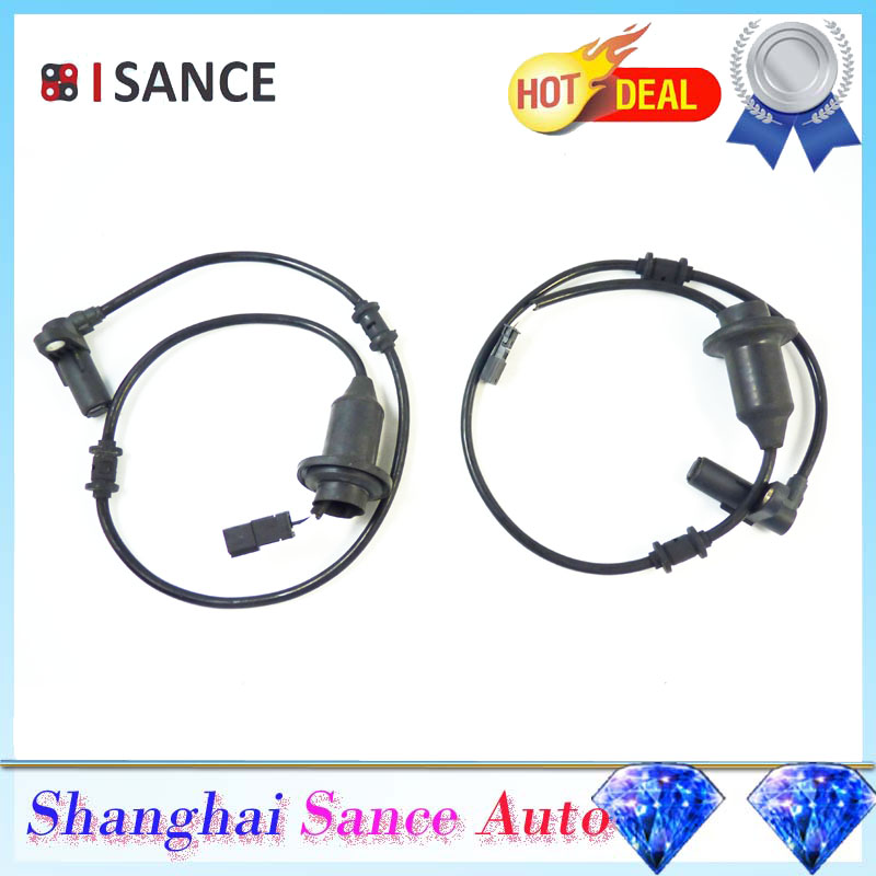 ISANCE ABS Wheel Speed Sensor Rear L R 2205400417 2205400517 For Mercedes Benz W220 W215 CL500