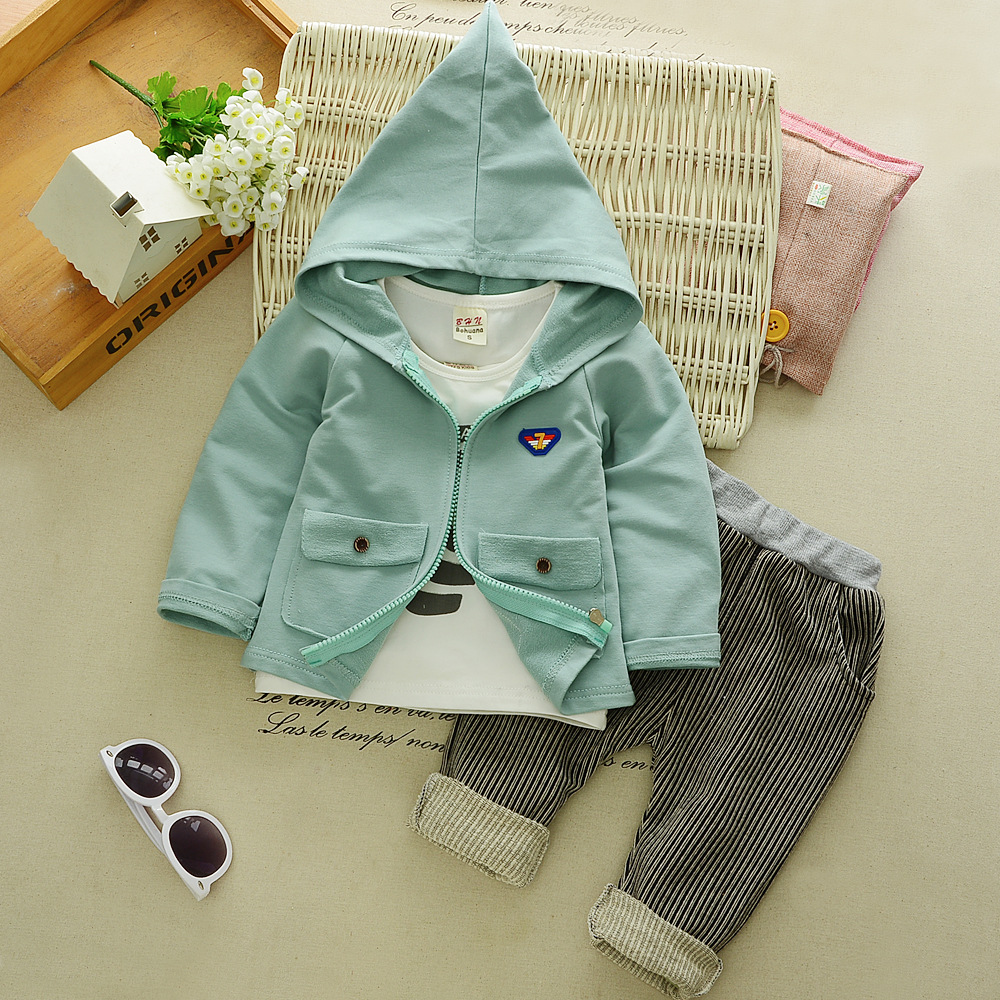 baby clothing set for boy autumn cotton clothes suit 3 pieces Spring newborn infant boys tracksuit kids Fashion hoodies 1 years 2018 spring autumn baby boy tracksuit clothing 2pcs set cotton boys sports suit children outfits 2 3 4 5 6 7 years kids clothes