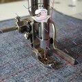 Máquina De Costura Industrial Peças flatcar auxiliar em linha reta do ponto quilting calcador haste guia sobre a costura dupla haste de guia
