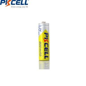 Image 4 - 4PCS PKCELL AA battery 600mah 1.2v NIMH AA rechargeable batteries aa batteria recharge and 1pcs AA battery box for Camera toys
