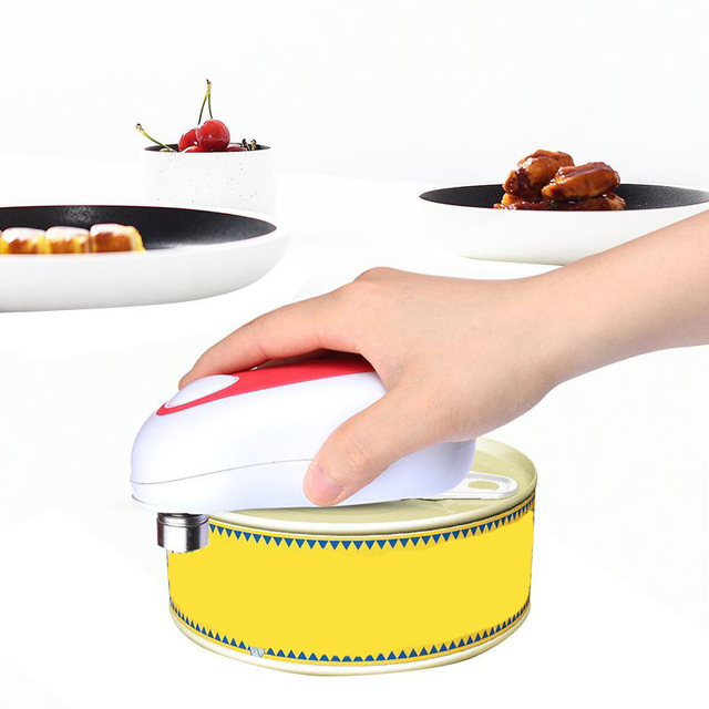 home can opener smooth soft edge with one touch start best kitchen gadgets electric can - Best Kitchen Gadgets