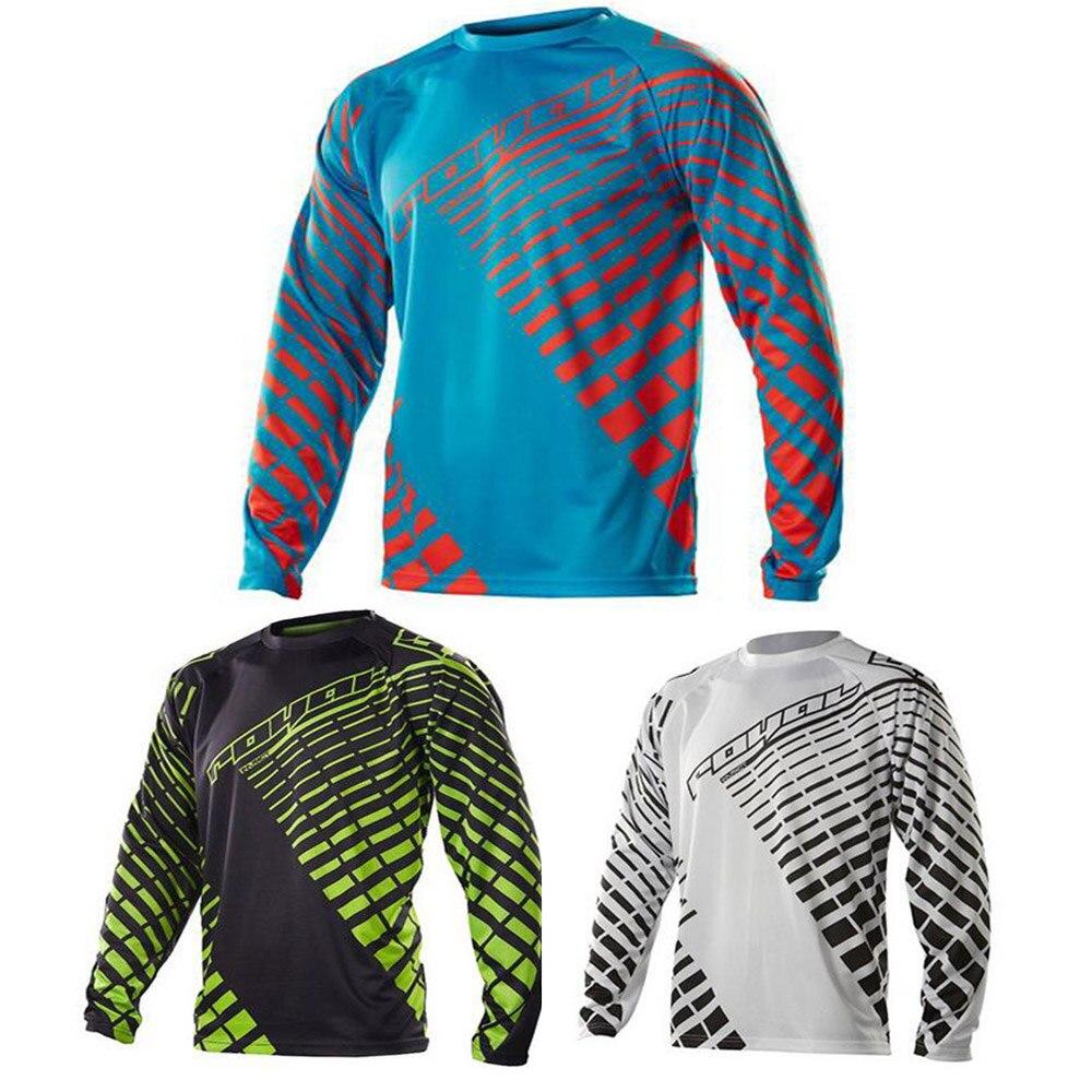 2019 Novo Azul Preto Laranja Verde Moto GP Mountain Bike Motocross Jersey  MTB DH BMX Longo ffa9066b6