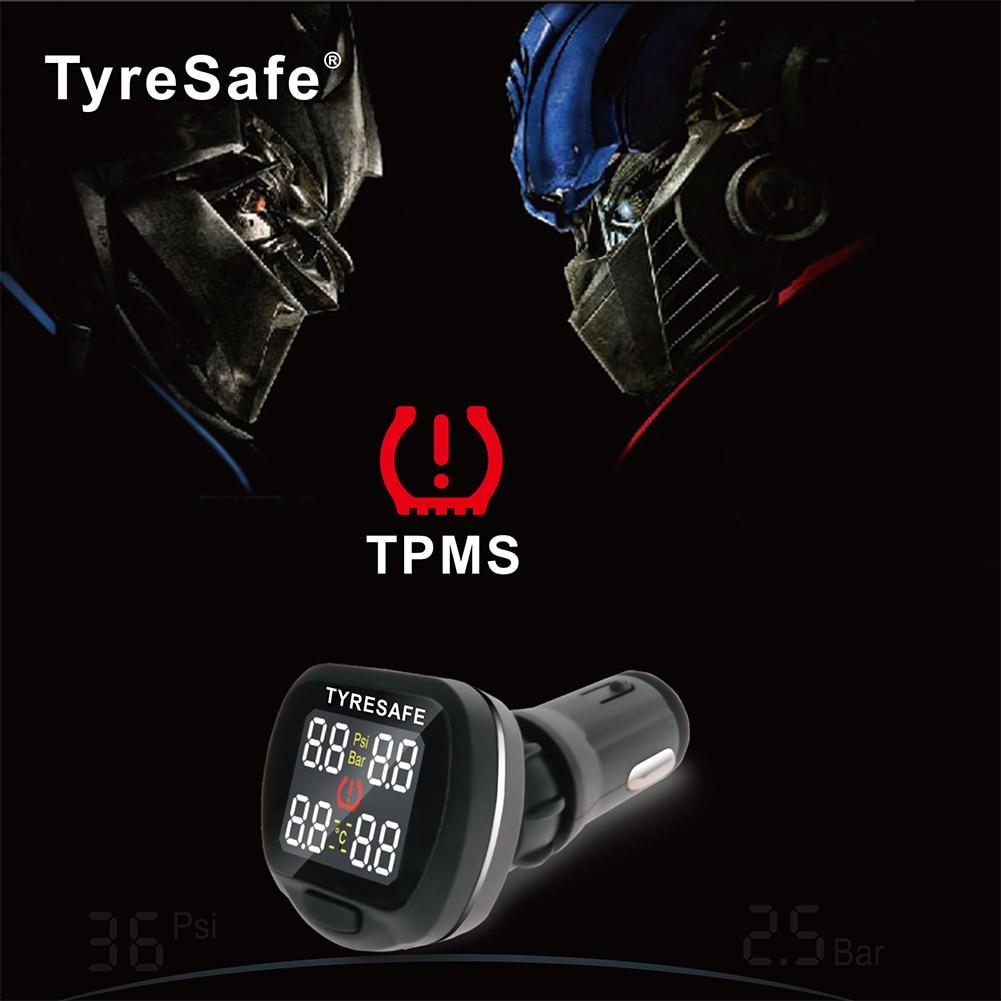 Ángulo giratorio TP500 Pantalla TPMS más nueva con conector USB - Electrónica del Automóvil - foto 6