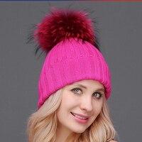Mother Kid Baby Child Hats Warm Winter Knit Beanie Cute Winter Mom Baby Hats Crochet Cap