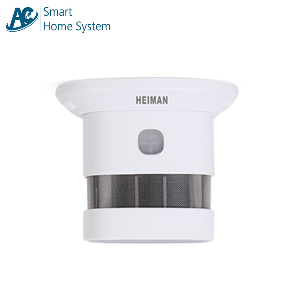 High Quality Electronic Smoking Device Mini Simplisafe Celling Mounted Fire Alarm Standalone Plastic Smoke Detector цена
