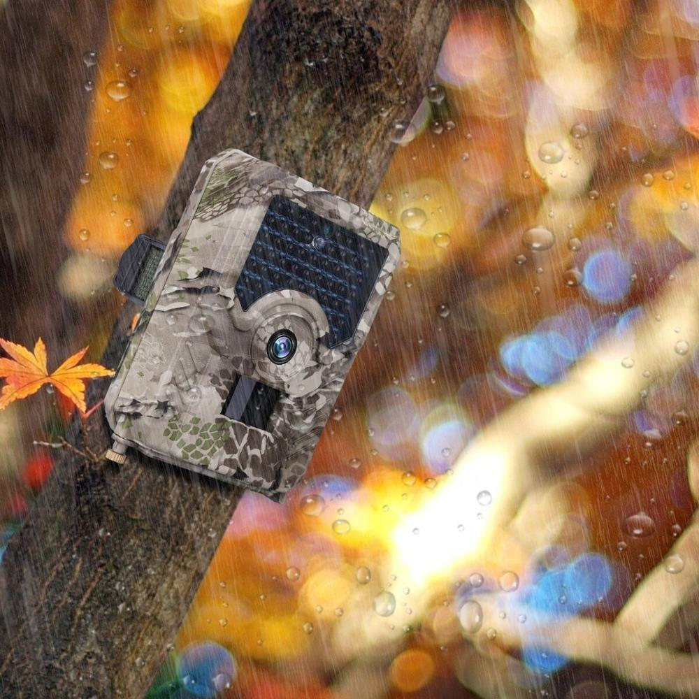 PR200 Waterproof IP56 12MP hunting trail camera wildelife photo trap 18650 batteries 110 degree 0.8S trigger time image
