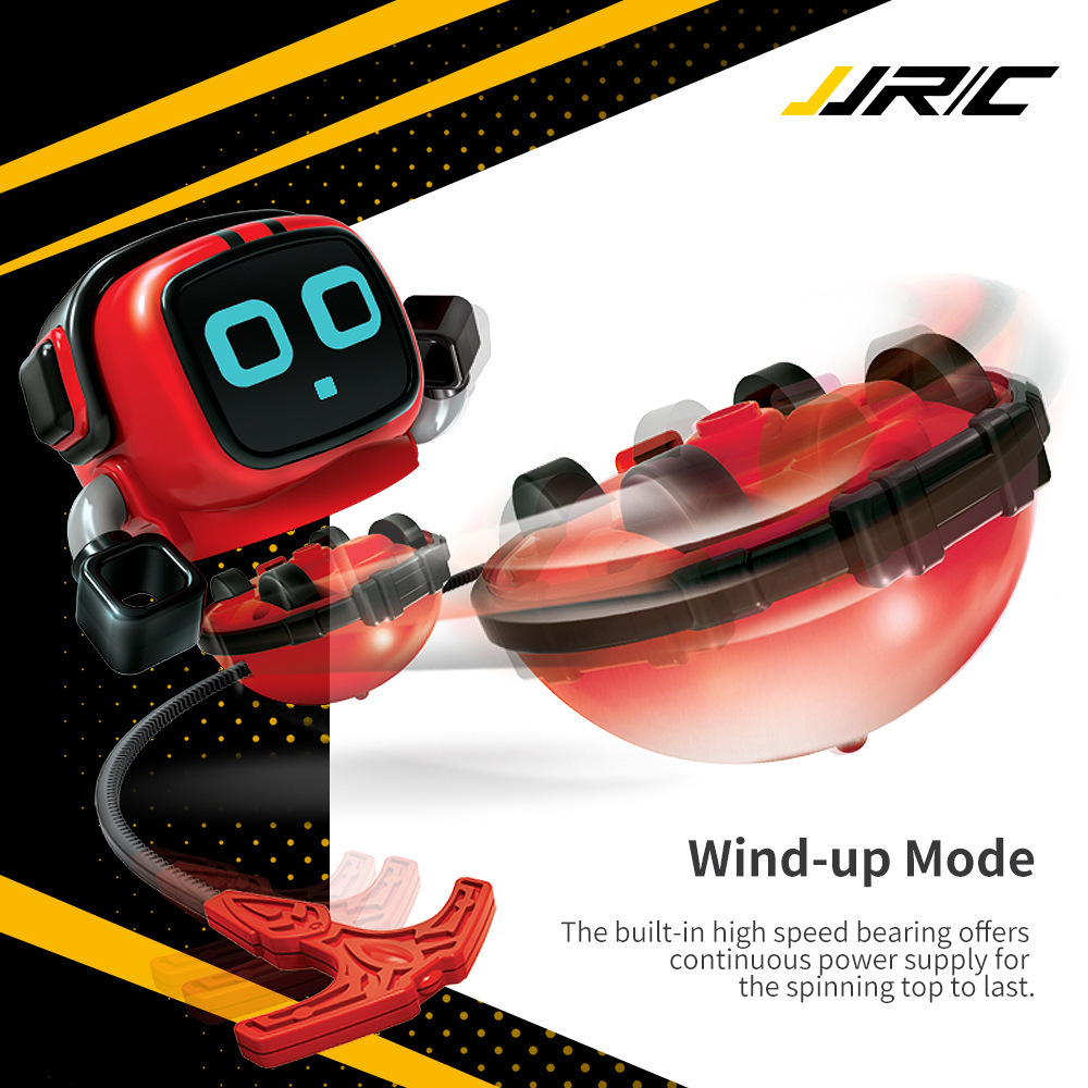 Jjrc Robot Launching Mode Toy Gyro Gyroscopes-Top Car Detachable Wind-Up R7 ZLRC