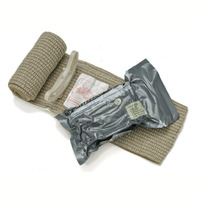 Ever Ready Bandage Battle Dressing Outdoor Tactical Emergency First Aid Compression Bandage 4 Inches Vacuum Packaging