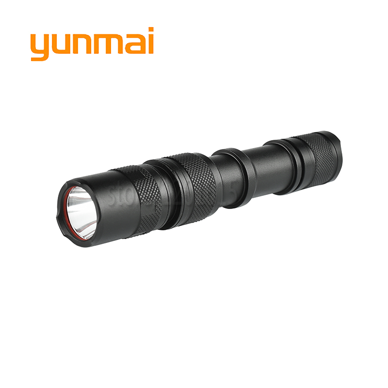 Micro Usb Cable LED Torch LED Tactical Flashlight CREE XM-L T6 LED 4000Lumens Torch Lamp for 1x18650 Rechargeable Hunting Light 3000 lumens zoomable cree xm l t6 led tactical flashlight torch zoom lamp light waterproof led 5 modes for 1x18650 3xaaa