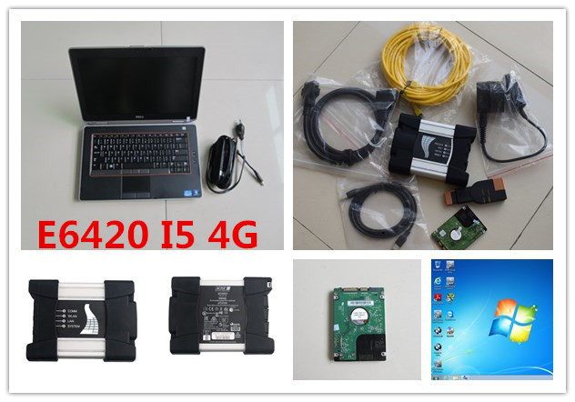 Special Price For bmw scanner 3 in 1 for bmw icom next a b c with hdd 500gb 2018.12 newest software expert mode with e6420 laptop i5 4g