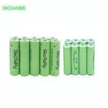 6pcs AA 1200mAh 1.2V Ni-MH Rechargeable Batteries + 6pcs AAA 1800mAh 1.2V Rechargeable Batteries