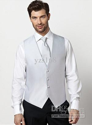 Man Vest Custom Groom Waistcoat Tie Dress Set Wedding Accessories Regalos