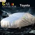 Автомобильный чехол Buildreamen2  защита от солнца  дождя и снега  водонепроницаемый чехол  подходит для Toyota Crown Camry Land Cruiser Avensis Mark X Fortuner