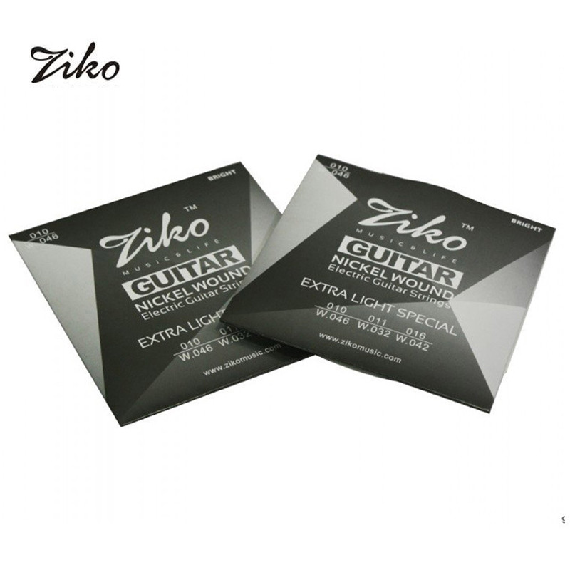 ziko dn series electric guitar strings extra light 009 042 and 010 046 inch nickel wound. Black Bedroom Furniture Sets. Home Design Ideas
