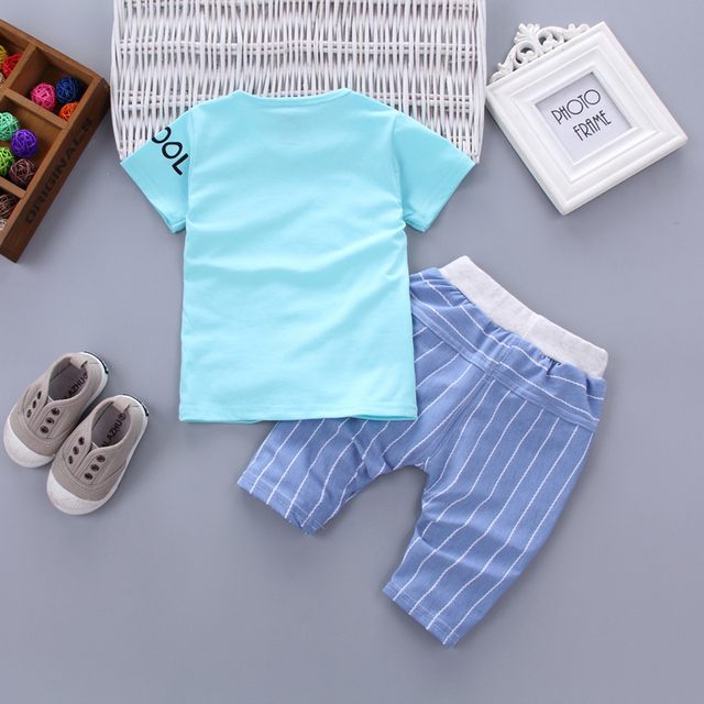 Newborn baby boy happy kid clothes sets for kids 2