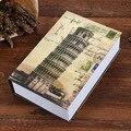 Сейф для книг  Забавный замок для ключей  коробка для книг  металлическая сталь  сейф для денег  скрытая копилка  коробка для хранения (Размер...