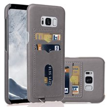 2-layer Business Credit Pocket For Samsung Galaxy S10 S9