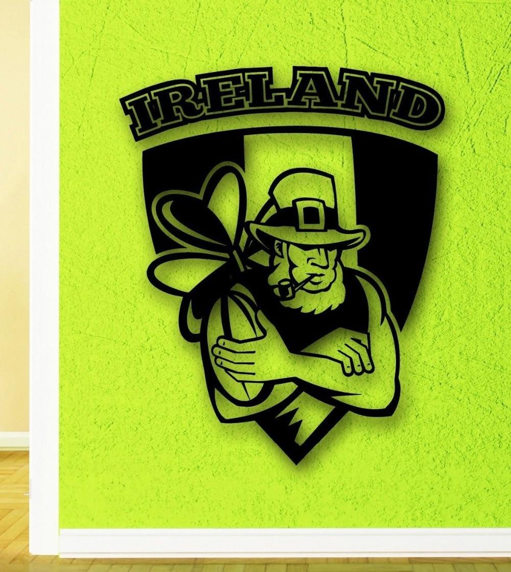 Online Buy Wholesale irish wall decals from China irish wall