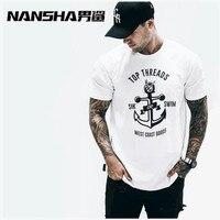 Man T Shirt Summer Cotton Compression TShirts Male Short Sleeve Crew Neck Blouse Oversized Jersey Camisetas