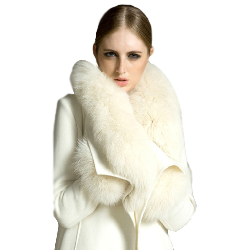 Long Winter White Wool Coat Promotion-Shop for Promotional Long